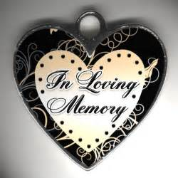 In Loving Memory Clip Art Heart