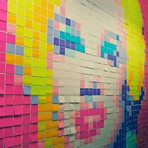 Post It Art : post it notes were invented by accident ~ Frokenaadalensverden.com Haus und Dekorationen