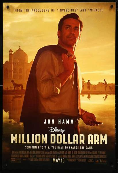 Dollar Million Arm Movie Poster Film Posters