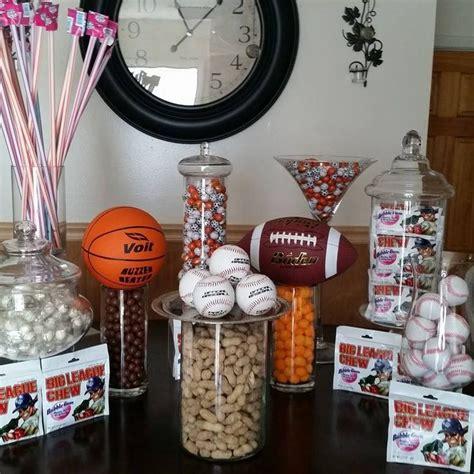 sports banquet centerpieces ideas  pinterest