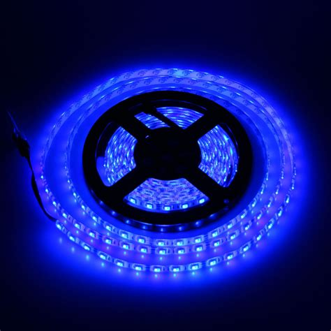 Blue 12v 2835 Smd Flexible Led Strip Lights, 164ft 5m