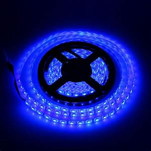Led Stripes : blue 12v 2835 smd flexible led strip lights 16 4ft 5m spool for home kitchen diy le ~ Watch28wear.com Haus und Dekorationen