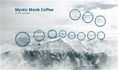 Since the monastery is located in a small piece of land. Mystic Monk Coffee by Von Vilaga on Prezi