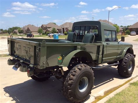 kaiser jeep lifted lifted jeep hummer m715 military rock crawler truck kaiser