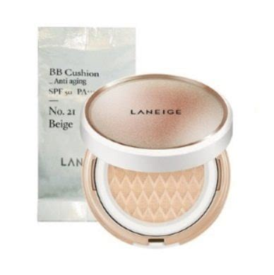 Harga Laneige Bb Cushion Refill laneige bb cushion anti aging best korean skincare shop
