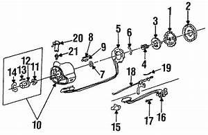 Buick Century Horn Contact Ring  1985 O Tilt