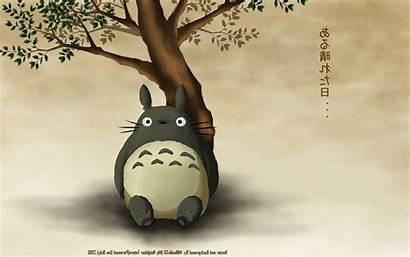 Totoro Neighbor Anime Wallpapers Desktop Wallup Backgrounds