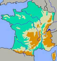 Carte Des Reliefs De à Compléter by Lecartablebleu Climat Fleuves Et Relief En L Europe