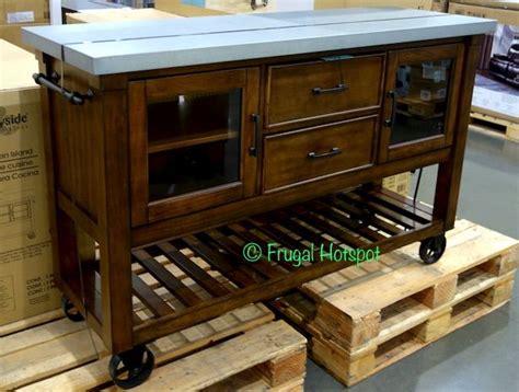 Costco Kitchen Furniture by Costco Bayside Furnishings Kitchen Island 399 99