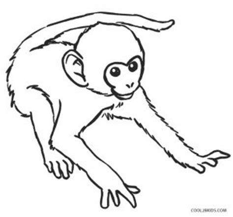 printable monkey coloring pages  kids coolbkids