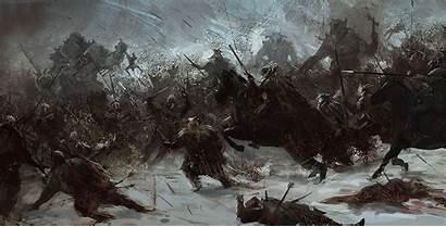 Norse Ragnarok Jesus Gods Painting Fall Mythology