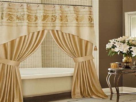 bathroom valances ideas curtain awesome swag shower curtain astonishing