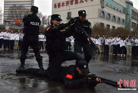bureau municipal swat team of urumqi municipal security bureau
