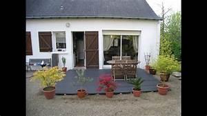 Poser Une Terrasse En Composite : poser une terrasse composite youtube ~ Melissatoandfro.com Idées de Décoration