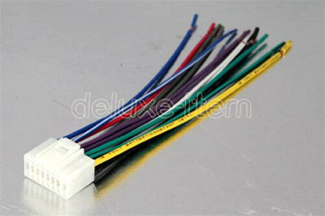 Alpine Pin Car Stereo Radio Wiring Wire Harness Lead Ebay
