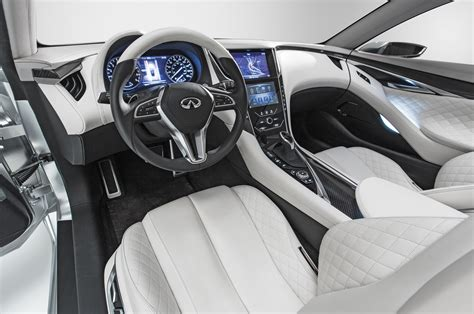 infiniti q60 interior infiniti q60 coupe to debut at 2016 detroit auto show