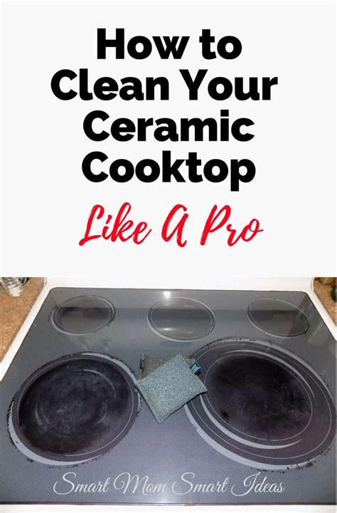 how to clean glass cooktop how to clean a ceramic cooktop