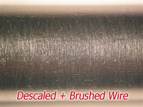 mechanical wire descaler  cleaning wire  rod