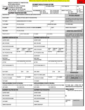 irp online form missouri irp equipment form fill online printable