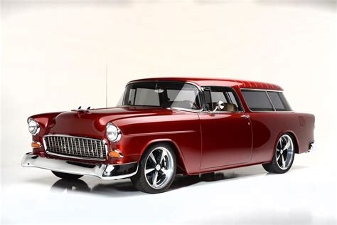 retired home interior pictures 1955 chevrolet nomad custom wagon 186013
