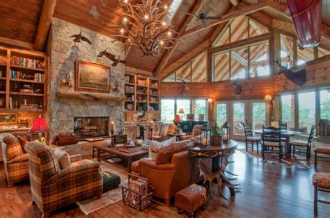 beautiful log home interiors beautiful log cabin interiors imgkid com the image kid has it