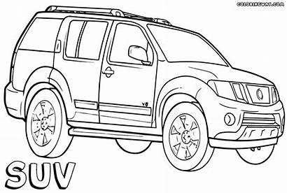 Coloring Suv Dog Suv2 Cars