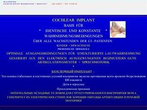 Bodo Bertram - Cochlear Implant as a way for Speech ...