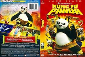 Kung Fu Panda (2008) R1 - Cartoon DVD - CD Label, DVD ...