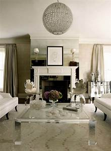 Living Room Ideas: Blend Modern Glamour With Classic