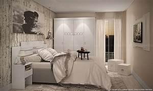 Kleines Schlafzimmer Gestalten : kleines schlafzimmer einrichten ideen im einklang mit den neusten trends 2017 ~ Orissabook.com Haus und Dekorationen