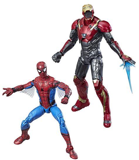 spider man homecoming marvel legends spider man  iron
