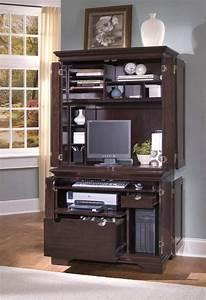 Petit Bureau Pour Ordinateur : meuble imprimante quelle solution choisir ~ Teatrodelosmanantiales.com Idées de Décoration