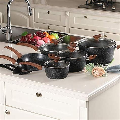 cookware sets nonstick kitchen dishwasher cooking safe findgreatdesigns use piece sellers pans camera