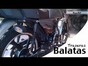 Como Cambiar Balatas Traseras A Una Italika 125 Cl U00e1sica