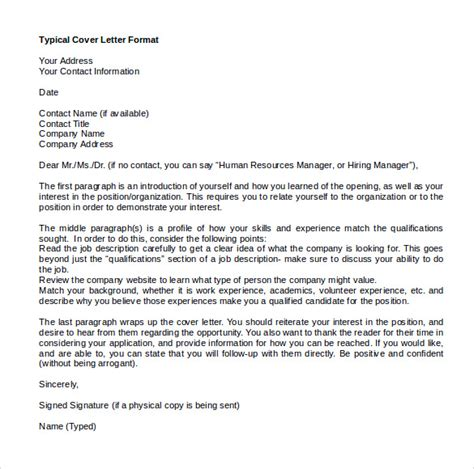 microsoft word cover letters sample templates