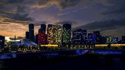 Hangzhou Night Town Qianjiang Nightlife