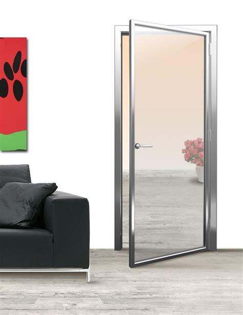 porte interne alluminio easy door di alsistem le porte interne con telaio in