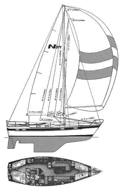 Najad 371 Sailboat Specifications And Details On