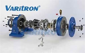 Varitron Cyclo Drive Gear Box Speed Reducer Motor Changer