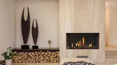 In The Wall Gas Fireplaces - mod95 in the wall fireplace high efficiency gas