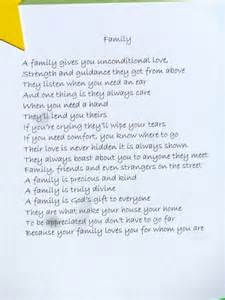 Poems About Love and Family Support