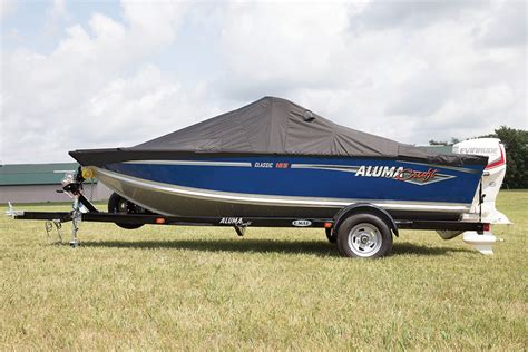 Bimini Top Alumacraft Boat by Travel Cover