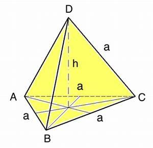 Tetraeder Volumen Berechnen :  ~ Themetempest.com Abrechnung