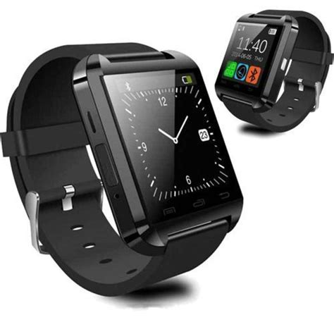 u8 intl android smartwatch u8 black price home shopping