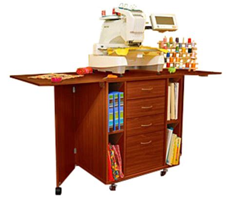 Kangaroo Sewing Cabinets Canada by Kangaroo Kabinets Wombat Embroidery Table Teak K9205