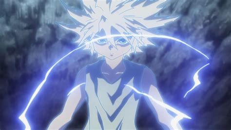 hunter  hunter amv killua    bow p youtube