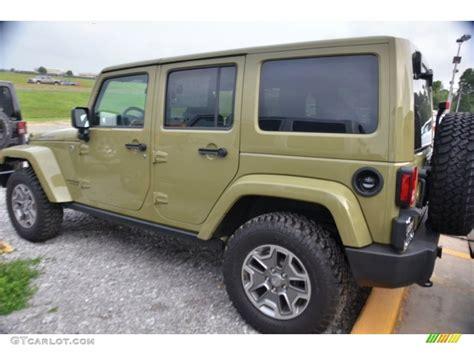 green jeep rubicon commando green 2013 jeep wrangler unlimited rubicon 4x4