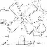 Coloring Mill Pages Windmill Designlooter Drawings 800px 41kb sketch template
