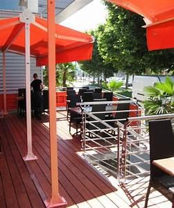 Terrasse Metallique Suspendue : terrasse m tallique ossature m tal garde corps plancher bois ~ Dallasstarsshop.com Idées de Décoration