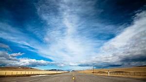 wallpaper road 4k hd wallpaper clouds day sky